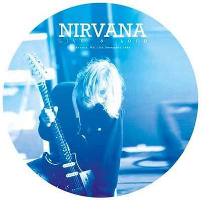 """Nirvana - Live & Loud - Seattle, Wa, 13th December 1993 NEW 12"""" Picture Disc"""