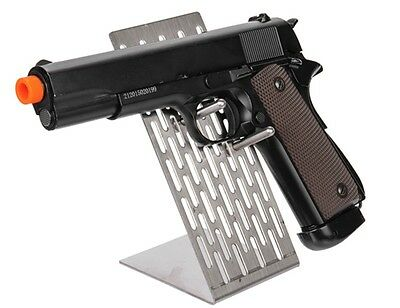 CA-1107: Metal Pistol Display Support Stand Airsoft Handgun Rack