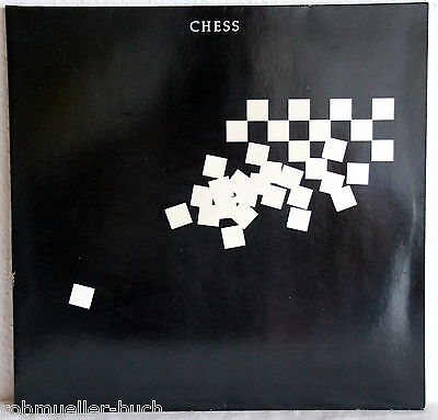 LP - CHESS - Benny Andersson / Björn Ulvaeus (ABBA) und Time Rice