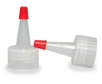 Yorker Dispensing Caps for Plastic Bottles (Lot of 100) (You Choose Cap Size)