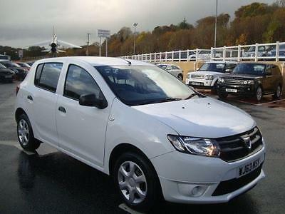 2013 63 Dacia Sandero 0.9 Ambiance Tce 90Bhp 5Dr Only 24,000 Miles