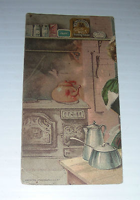 Vintage card FAIRBANKS SCOURING SOAP advertising beauty