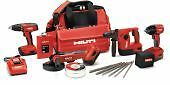 HIlti 3545582 HOL Only 3 tool 12V combo cordless systems