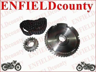 Lambretta Sprocket + Chain Kit Set 80 Link 46 Cogs & 16 Cogs Li/sx/tv/gp @cad