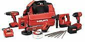 HIlti 3541638 SFH 18 + SID 18 + WSR 18-A CPC COMBO with MC4 charger cordless