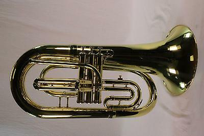 King System Blue Model SB30 Marching Euphonium LACQUER DEMO MODEL  QuinnTheEskim