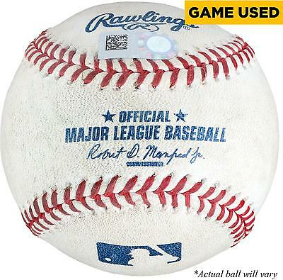Game Used Wil Myers Padres Baseball Item#6520516