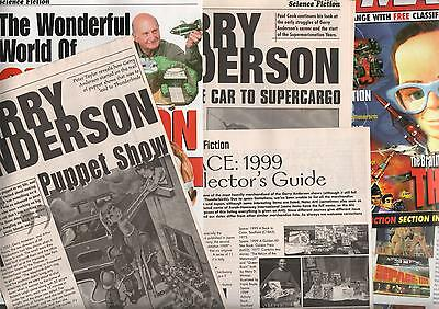 Gerry Anderson Thunderbirds Space 1999 Fireball Xl5 & More Clippings Collection