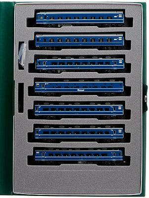 New N Gauge 10-1138 Sleeper Express Hamanasu 7 Car Basic Set From Japan