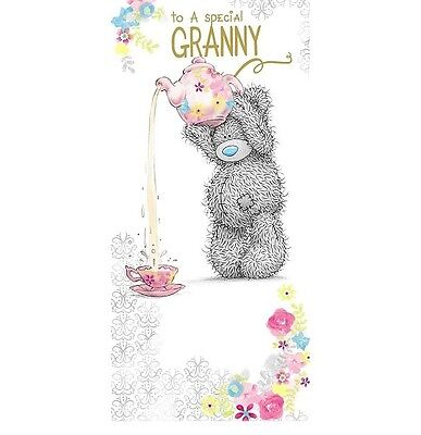 Me To You For A Special Granny Birthday Card Tatty Teddy Bear New Gift