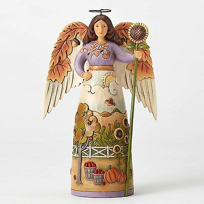 Jim Shore Autumn Leaf Angel Figurine ~ Thankful For This Day ~ 4053854