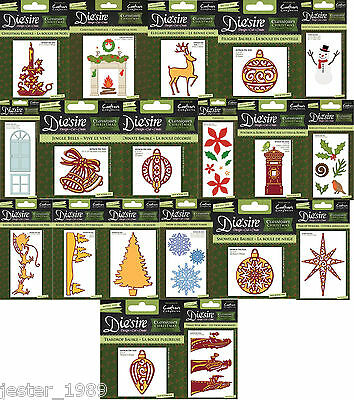 Crafters Companion Die'sire Christmas Classiques Cutting Dies