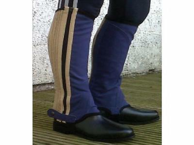 CLEARANCE Childrens Gallop Washable Synthetic Half Chaps Gaiters Various £4.99 !