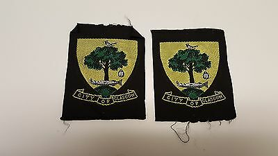Two 1960's Glasgow Area Scouts Scotland Badges
