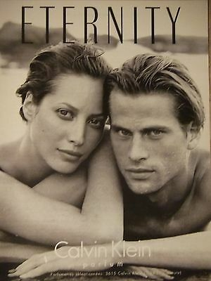 Publicité 1994 Eternity Calvin Klein Parfum - Advertising