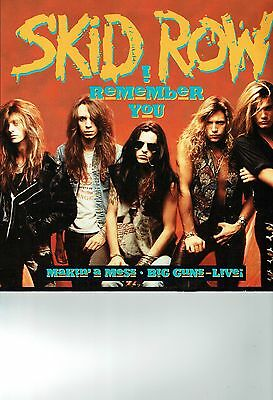 Skid Row 12 Inch Single I Remember You