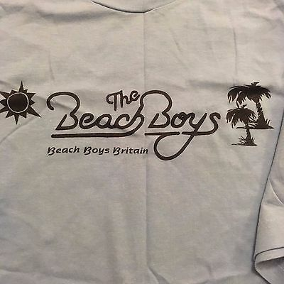 The Beach Boys T Shirt Beach Boys Britain Original 1990's Medium