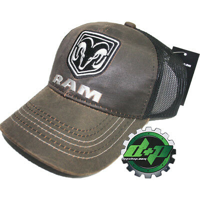6d776e337f3 dodge Suede summer mesh snap back baseball cap trucker hat ball mopar Ram  gear