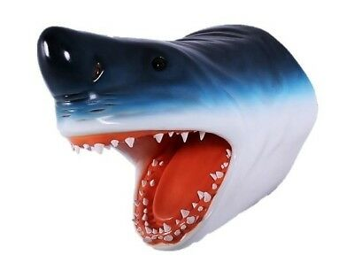 Great White Shark Heaad Wall Décor 2ft- Jaws Fish Mount-  LM Treasures - Free S