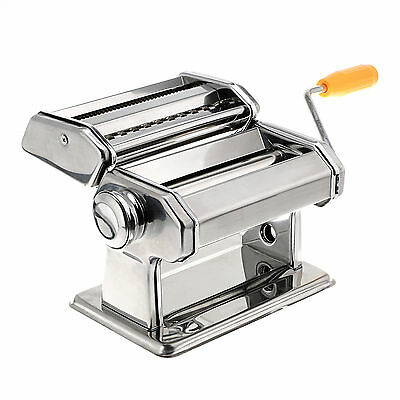Stainless Steel Pasta Maker Roller Machine ,Dough Making, Fresh Noodle Maker