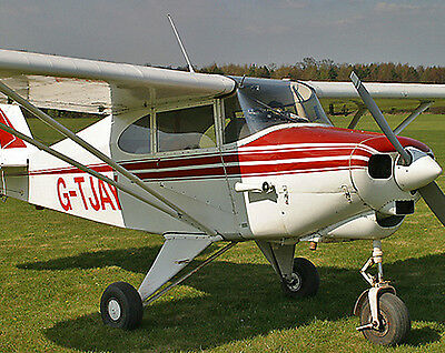 Giant 1/3 Scale Piper PA-22 Tri-Pacer Plans &Templates