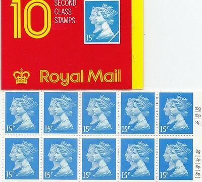 (83304) GB Booklet Penny Black Walsall JC3 1990