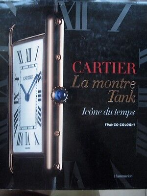 Cartier, la montre Tank Icone du temps par Franco Cologni 2012