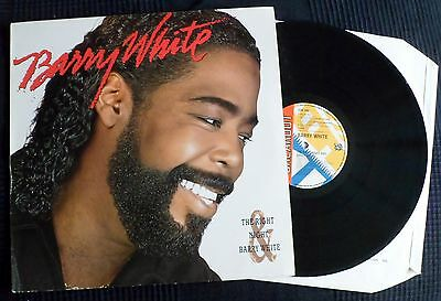 Barry White-The Right Night-Ama 5154-1986-Vinyl Mint-   1St Issue