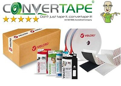 VELCRO® 1m Hook Or 1m Loop Self Adhesive Sticky Tape