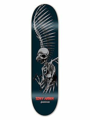 "Birdhouse Tony Hawk FULL SKULL 7.75"" Skateboard Deck BLACK"