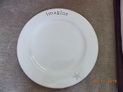 Primitives by Kathy Word Expression Dinner Plate/Platter