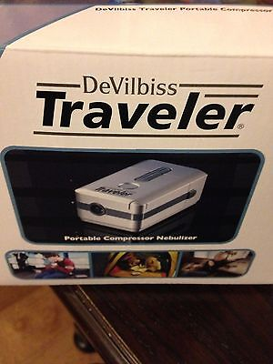 New Devilbiss Traveler Portable Compressor Nebulizer With Free Shipping