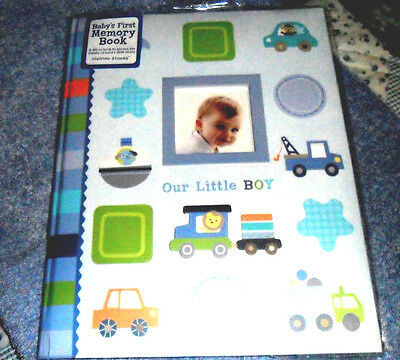 Stepping Stones Our Little Boy First Memory Book Baby Boy Photo Truck Car