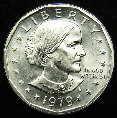 1979 S Uncirculated Susan B. Anthony Dollar BU (B04)