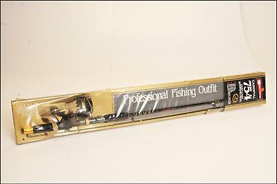 Sealed ABU GARCIA CARDINAL 754 REEL & ROD OUTFIT fishing pole casting spinning