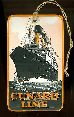 1930 Colorful Luggage Label United States Steamship Line