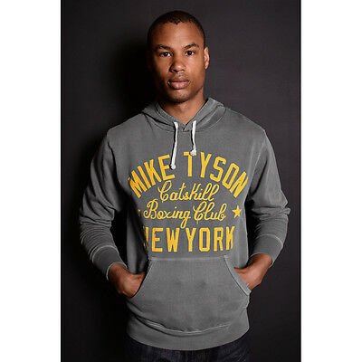 Roots of Fight Tyson Catskill NY French Terry Pullover Hoodie - Gray