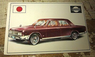 NISSAN PRESIDENT   - Famous Cars by Top Sellers Ltd UK Trade Card