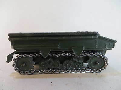 DINKY 162a LIGHT DRAGON TRACTOR. MILITARY/ARMY. ORIGINAL/VINTAGE.