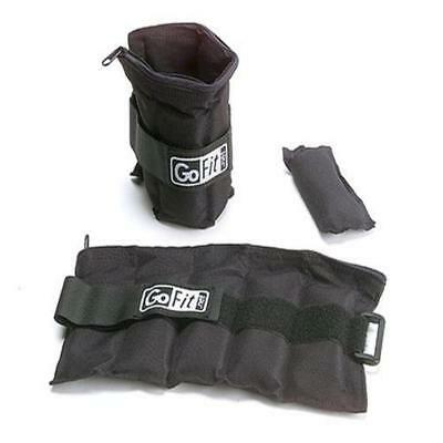 Gofit Gf-5W Adjustable Ankle Weights (5 Lb) Velcro Strap Perfect New