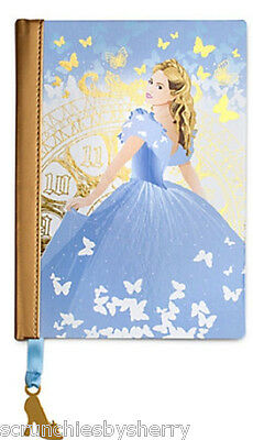 Disney Store Cinderella Journal Diary Live Action Movie 2015 New