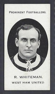 Taddy - Prominent Footballers (London Mixture) - R Whiteman, West Ham United