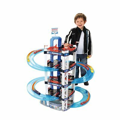 Bosch Car Park Mega Garage Kids Childs Playset Wheels Toy - Christmas Xmas Gift
