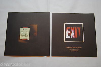 Opeth Heritage World Tour 2011/2012 Programme Booklet Brochure New Official Rare