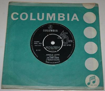 Pink Floyd, Arnold Layne*candy And A Currant, 1967 Columbia 8156, Stunning Mint-
