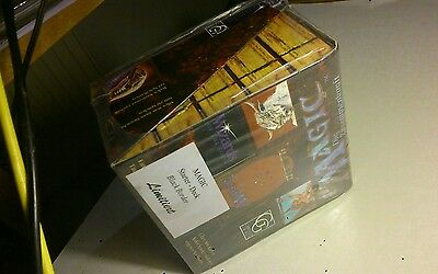 mtg German Black Border 10 Starter Deck Box Limited Revised FBB 3d Ed No Beta