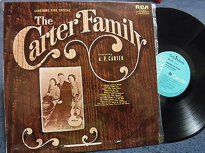 "THE CARTER FAMILY ""Lonesome Pine Special"" Australian LP - RCA / Camden CAL-2473"