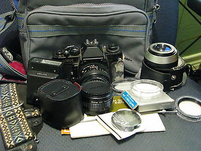 Sears KSX 35 mm Camera and Accessories