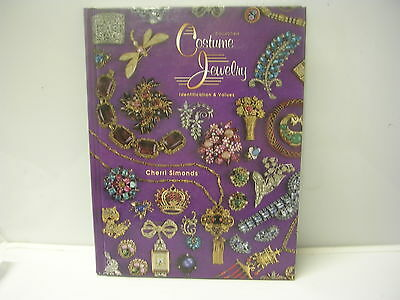 Collectible Costume Jewelry Identification & Values by Cherri Simonds Book