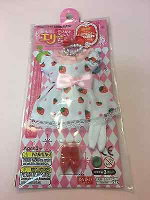New Japan Pullip Blythe Licca Elly 9'' Inch Doll Dress Outfit